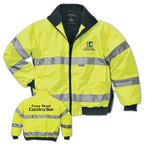 Best Work Gloves >> Custom Embroidery on High Visibility Apparel | Hi-Viz Safety Wear High Visibility Apparel Store