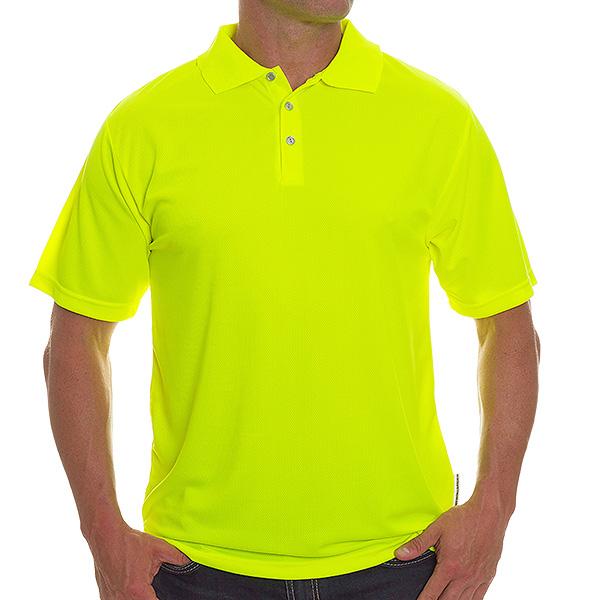 Polo shirts non ansi for Hi vis polo shirts with pocket