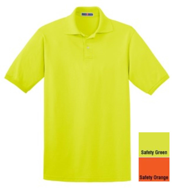Jerzees Safety Polo Shirt No Pocket