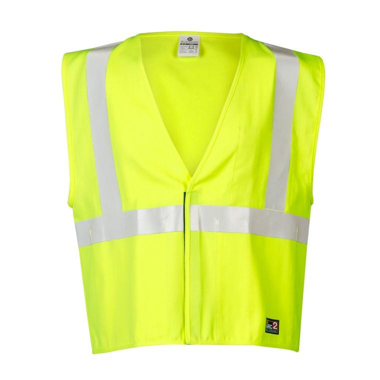 695d3ac42e49 ML Kishigo Economy Class 2 FR Vest (Solid Fabric - Safety Yellow)
