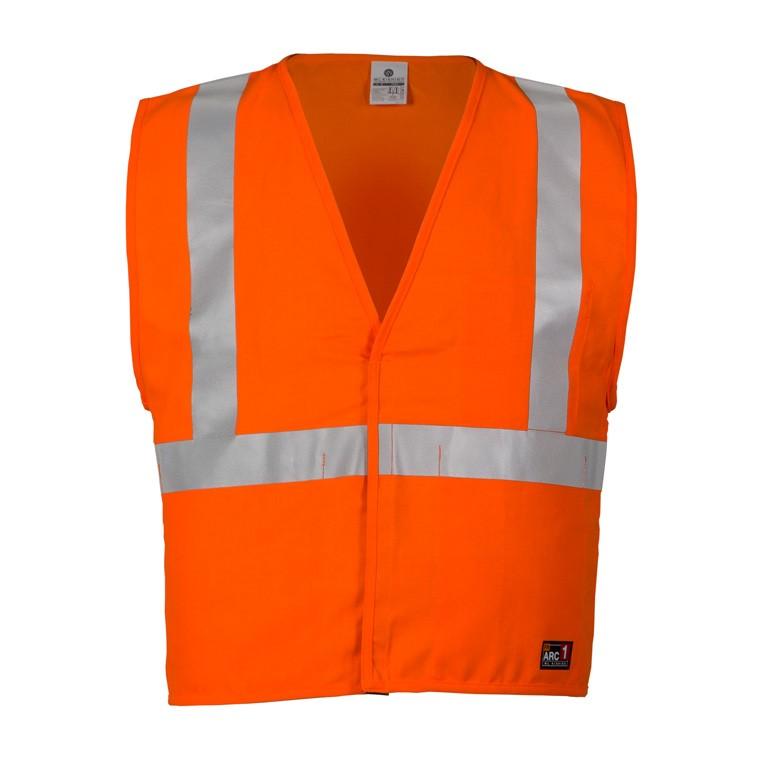 d9c8d240d3a7 ML Kishigo Economy Class 2 FR Vest (Solid Fabric - Safety Orange)