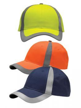 Reflective Safety Caps Hi Viz Safety Wear High