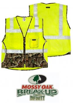 9a20607e64a1d ML Kishigo Heavy Duty Mossy Oak® Class 2 Camo Vest | Hi-Viz Safety ...