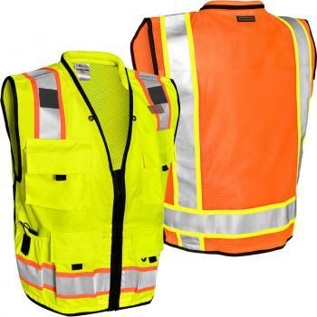 330abd05387 ML Kishigo Heavy Duty Class 2 Professional Surveyors Vest